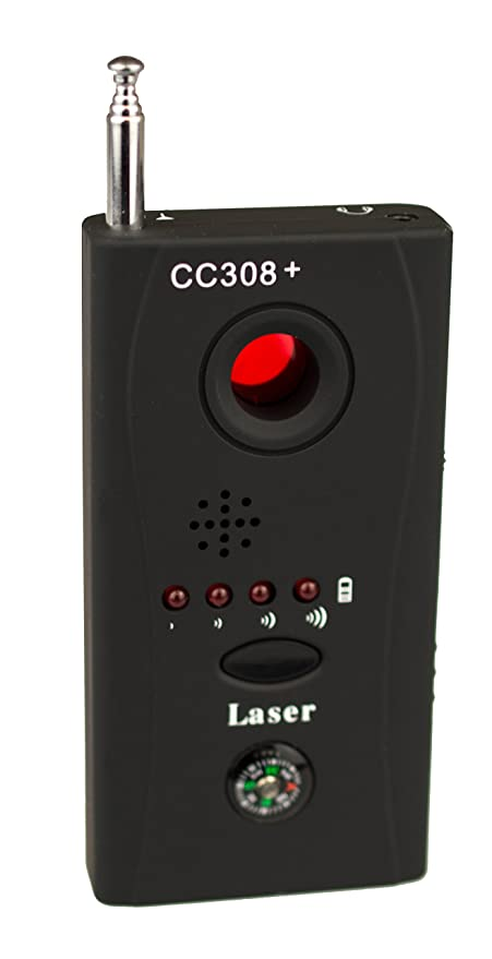 Kobert Goods KG15 - Detector de micrófonos inalámbrico (Incluye cámara inalámbrica)