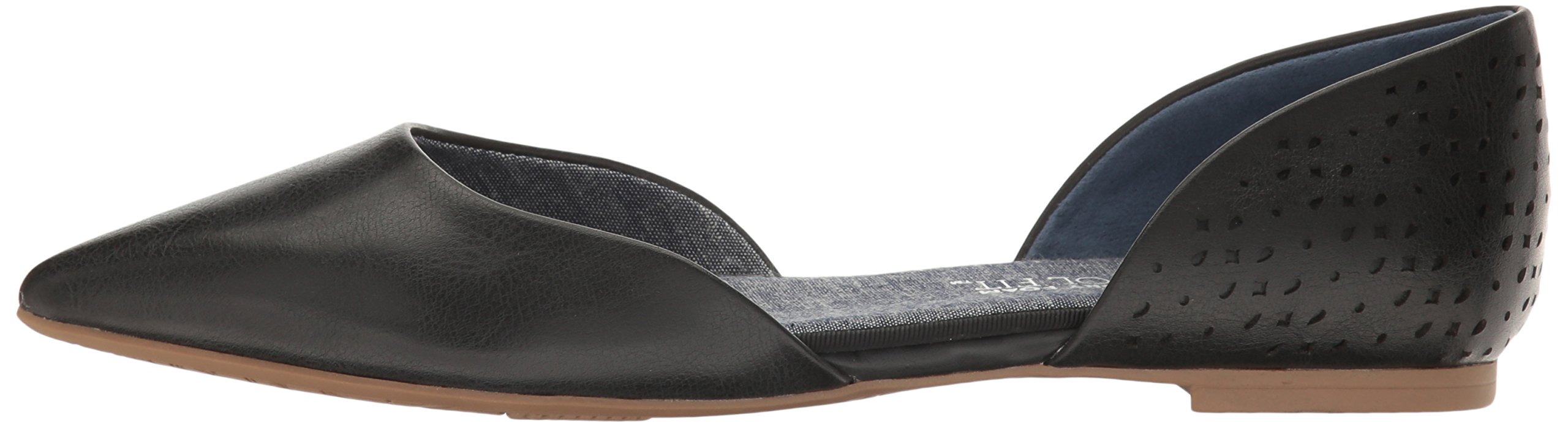 Dr. Scholl's Women's Svetlana Pointed Toe Flat, Black Perforated, 9.5 M US by Dr. Scholl's (Image #5)