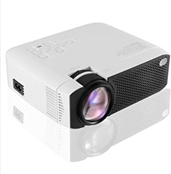 Mini proyector portátil, 1080P Full HD Video Proyector 3800 Lumen ...