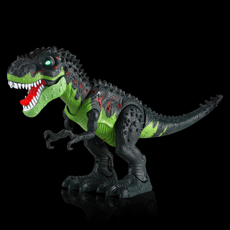 Tuko Dinosaur Toys Jurassic World Electronic Led Light Up Roaring Realistic Large T-Rex Toys for 3-12 Year Old Toddler Boy Girl Gift by Tuko (Image #3)