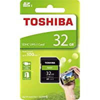 Toshiba 32GB UHS-I Class 10 SDHC Memory Card (Read Speed upto 100 MB/s)