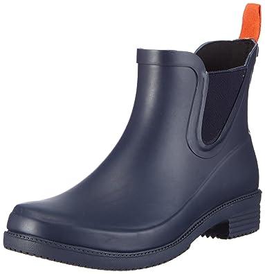 Dora Women Round Toe Synthetic Blue Rain Boot