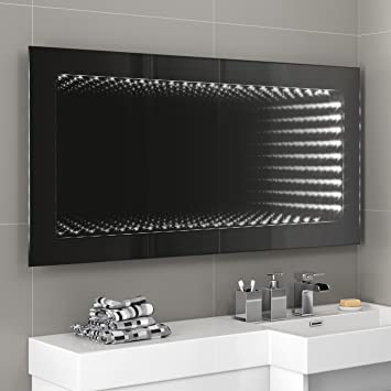 1200 X 600 Mm Illuminated LED Infinity Bathroom Mirror With Motion Sensor MC132