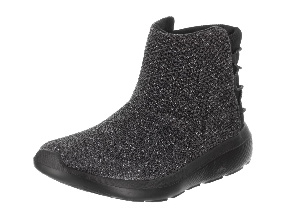 Skechers Womens On The Go City 2 - Vibrant Light Weight Ankle Chukka Boots Shoes Black Grey (10)