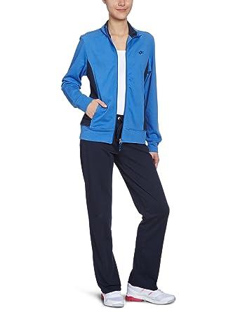 Lotto Sport - Chándal para Mujer, tamaño XL, Color Cruise/Azul ...