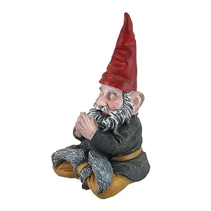 """Amazon.com: Gnomes de Toad hueco – Meditando Zen """" ..."""
