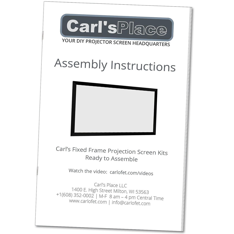 Kits de marco de fotos (pantalla de proyección fija de Carl de ...