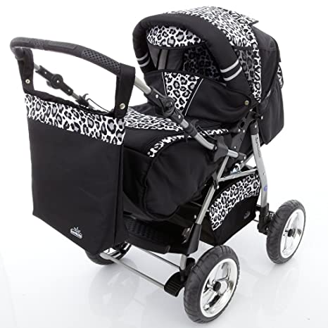 Chilly Kids iCaddy 4 in 1 Cochecito Combinado (base ISOFIX ...
