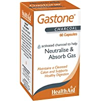 HealthAid Gastone Activated Charcoal - 60 Capsules