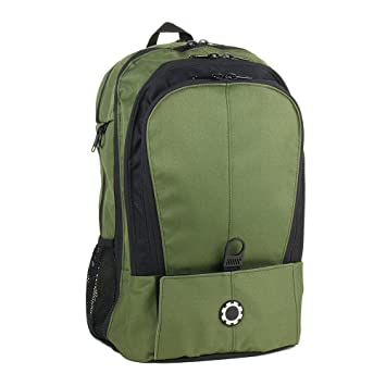 9059bf18209 Amazon.com   DadGear Backpack Diaper Bag - All Forest Green   Baby