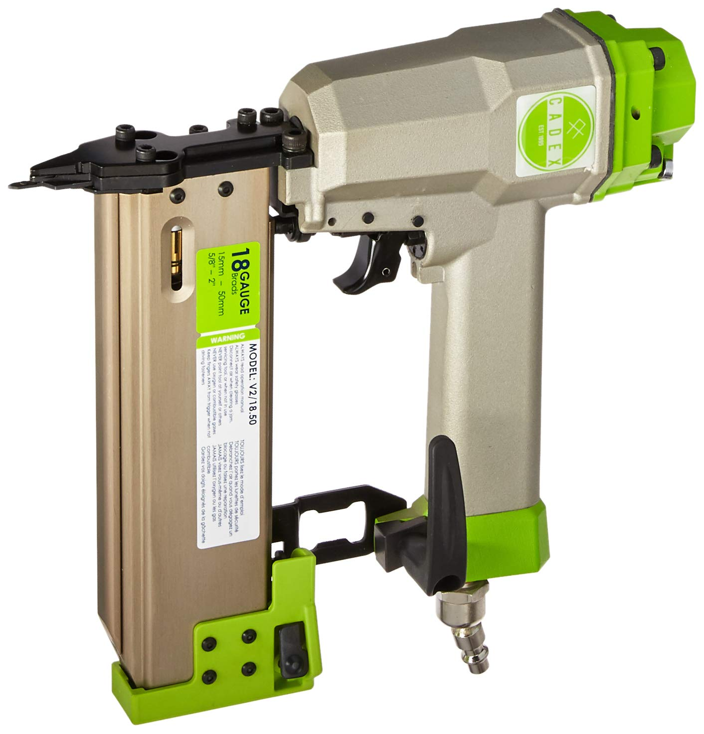Cadex V2 18.50 18 Gauge Brad Nailer, 5 8 – 2