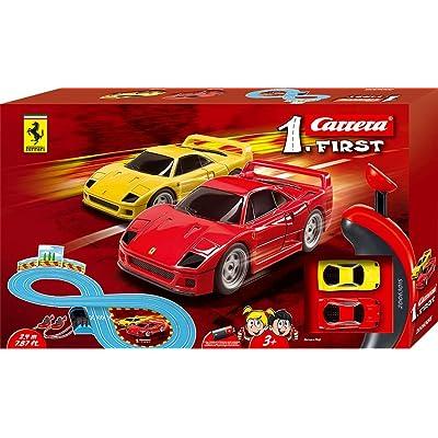 Carrera- First Ferrari Circuito de Coches, Pista de 2.4m (20063015): Juguetes y juegos