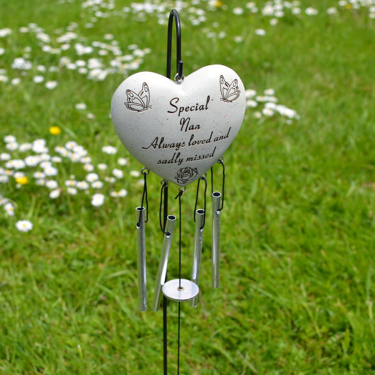 Special Nan Always Loved Sadly Missed Memorial Wind Chime Angraves