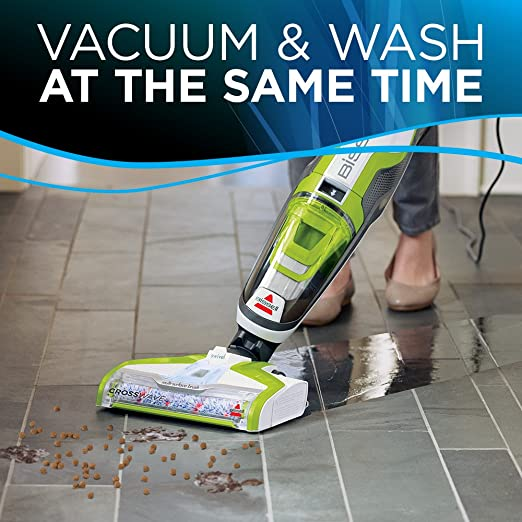 Amazon Bissell Crosswave Floor And Carpet Cleaner With Wet Dry