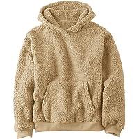 Boys Girls Sherpa Hoodies Fleece Hoodie Pullover Outfits for Kids