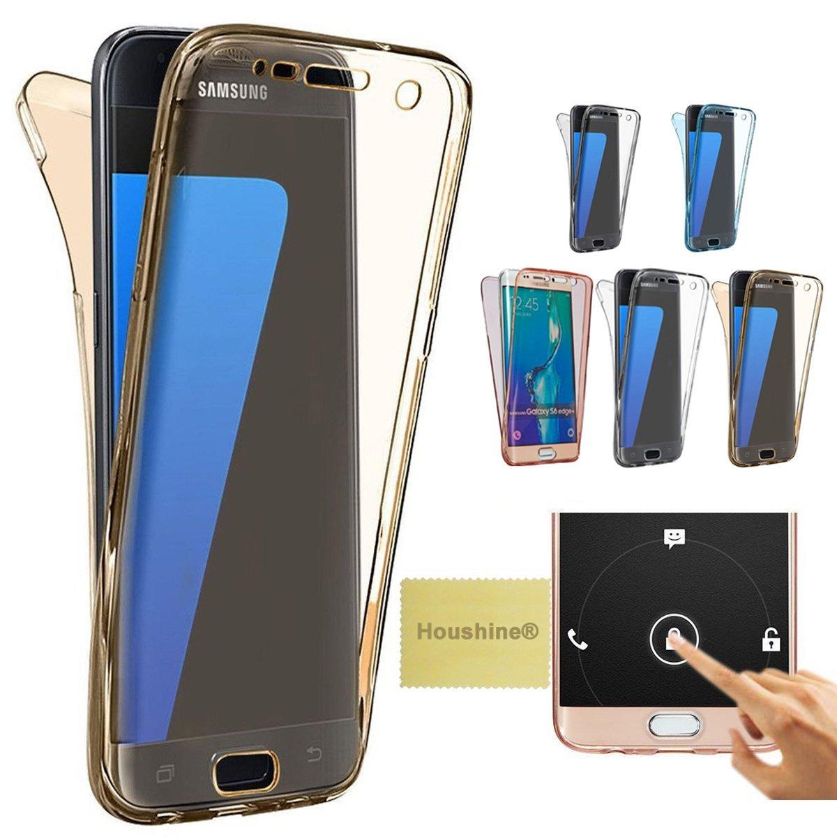 premium selection 1e043 5c71f Amazon.com: J5 2015 case(Front+Back Cover Gel Series), Houshine ...