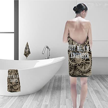 Amazon Hand Towel Set Industrial Decor Trust Me Im An Engineer Extraordinary Modern Industrial Home Decor Model