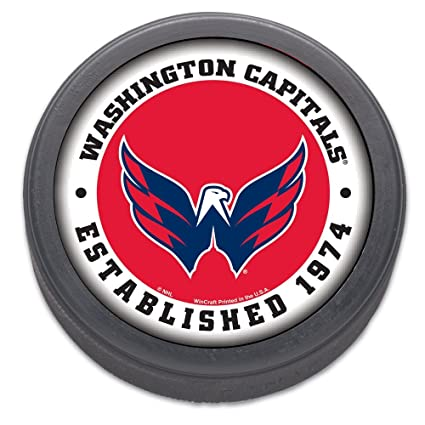52f3f42d432 Image Unavailable. Image not available for. Color  Wincraft NHL Washington  Capitals Hockey Puck