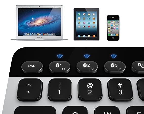Amazon.com: Logitech K811 Bluetooth Easy-switch Keyboard for Mac Ipad Iphone: Computers & Accessories