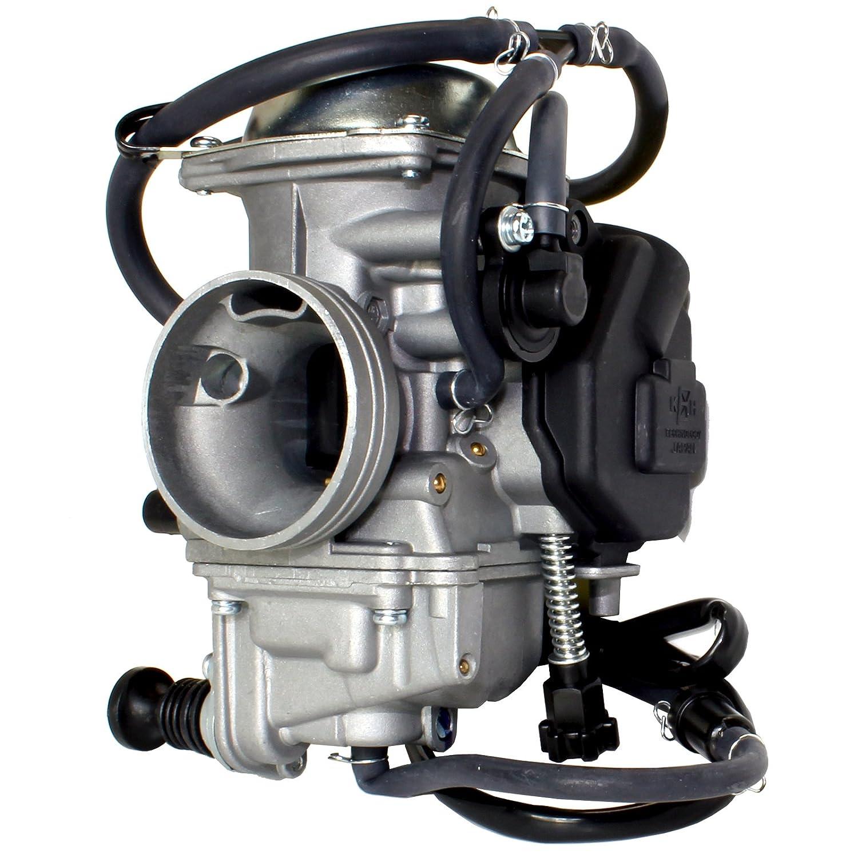 amazon com caltric carburetor fits honda 350 rancher trx350te rh amazon com honda trx 350 carburetor adjustment honda trx 350 carburetor adjustment
