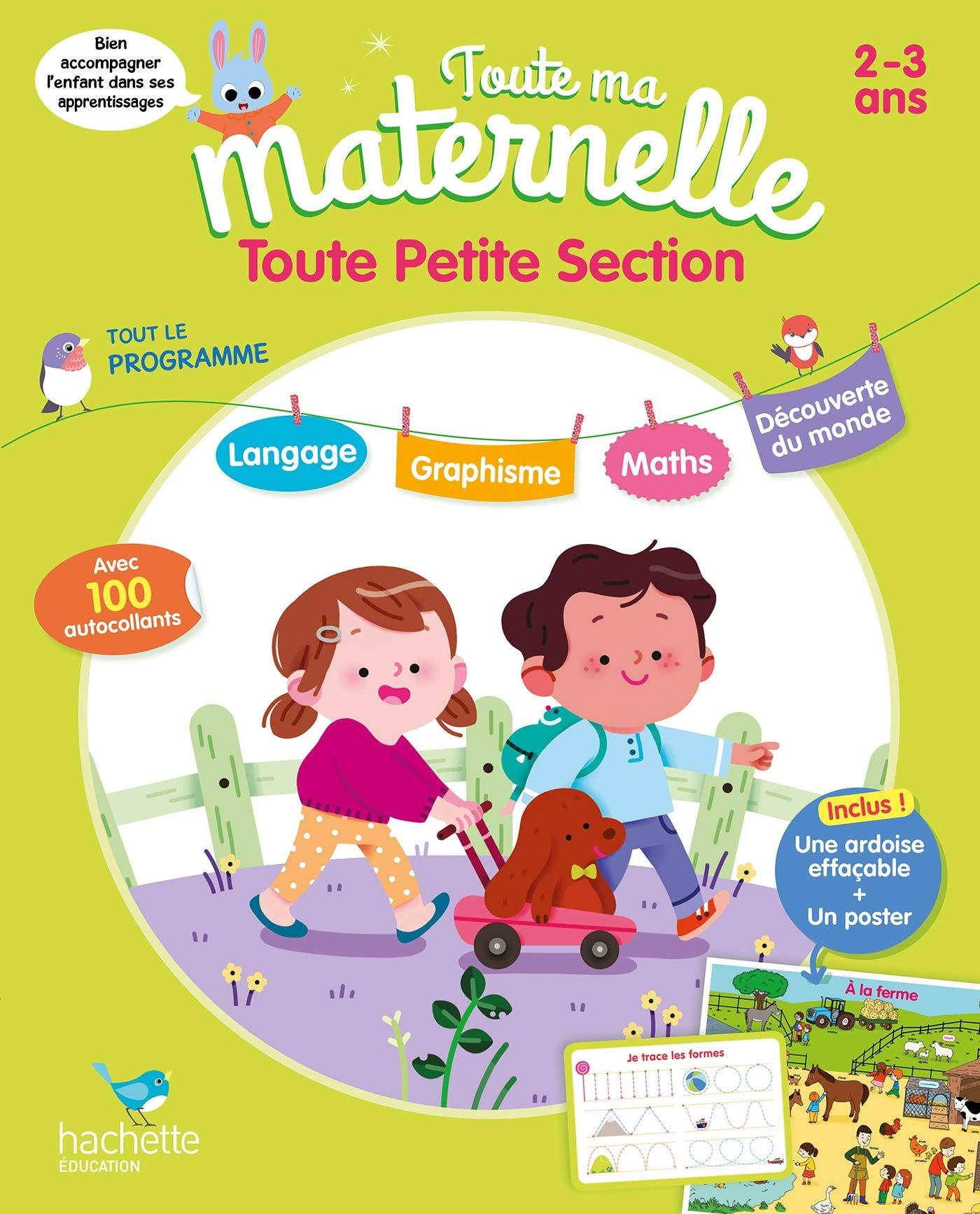 Amazon Fr Toute Ma Maternelle Tout Le Programme Toute Petite Section Marcel Caroline Livres