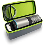 Tizum Z22 Travel Portable Hard Case Pouch for Amazon Echo (Gray)