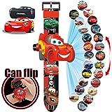 Kids 3D Projection Watches, Children Electronic Cartoon Watch Girls Boys Children's Wristwatches