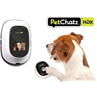 PetChatz New HDX | Two-Way, Premium, High Definition 1080p Video Pet Camera/Monitor with Treat and Aromatherapy Dispenser | Streams…