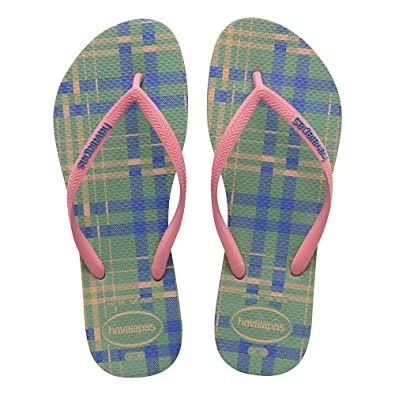 3d1e964b0 Havaianas Slim Retro Green Tea Flip Flop 33 34