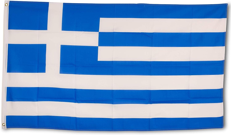Bandera Alemania 150x90cm SCAMODA Banderas federales y estatales de Material Resistente a la Intemperie con Ojales met/álicos Alem/án