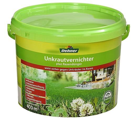 Dehner Estera para Killer césped Fertilizantes, 8 kg, Durante ...
