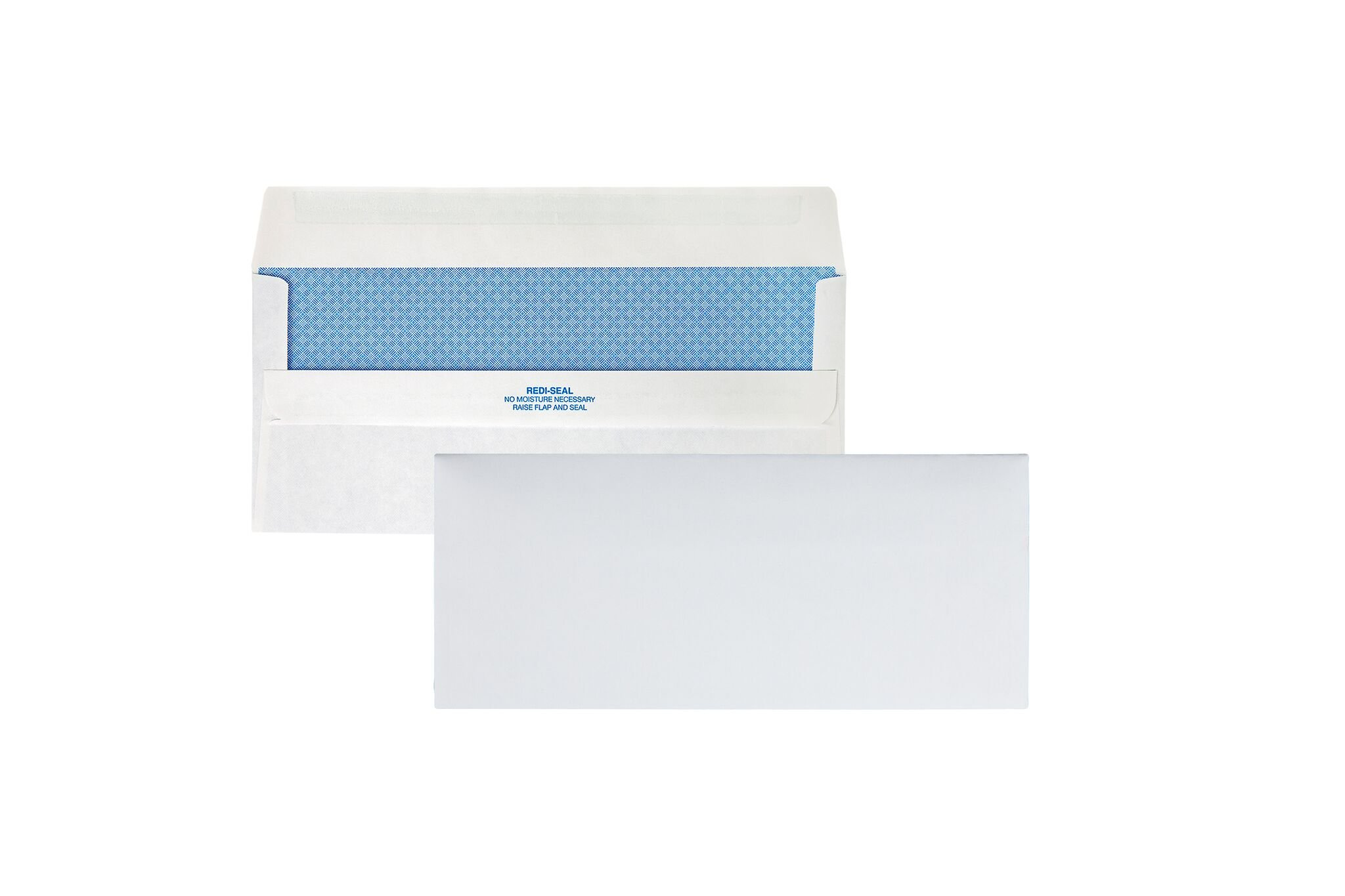 Quality Park Redi-Seal Security Tint Envelopes, 10, White, 500/Box (11218)