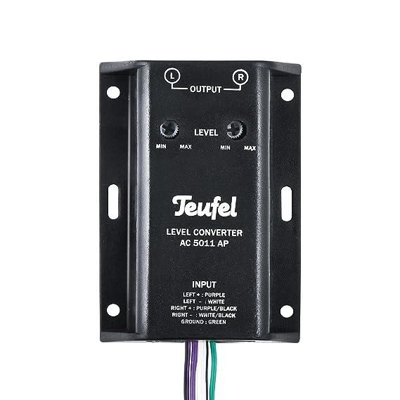 Teufel Level Converter AC 5011 AP - Konvertiert: Amazon.de: Elektronik