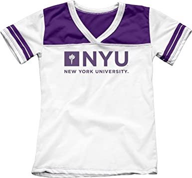 48c948f59ef2a Amazon.com: New York University NYU Violets Girls Youth Kids Tee ...