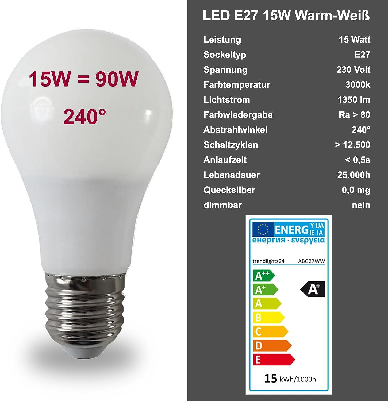 Wandleuchte Deckenleuchte SAVONA eckig/quadratisch IP44 LED E27; 230V Set inkl. 1x 15W LED (1350 Lumen); für Wohnraum, Bad, Flur, Wand, Decke; für bis zu 2x18 Watt Inkl. 1x Led