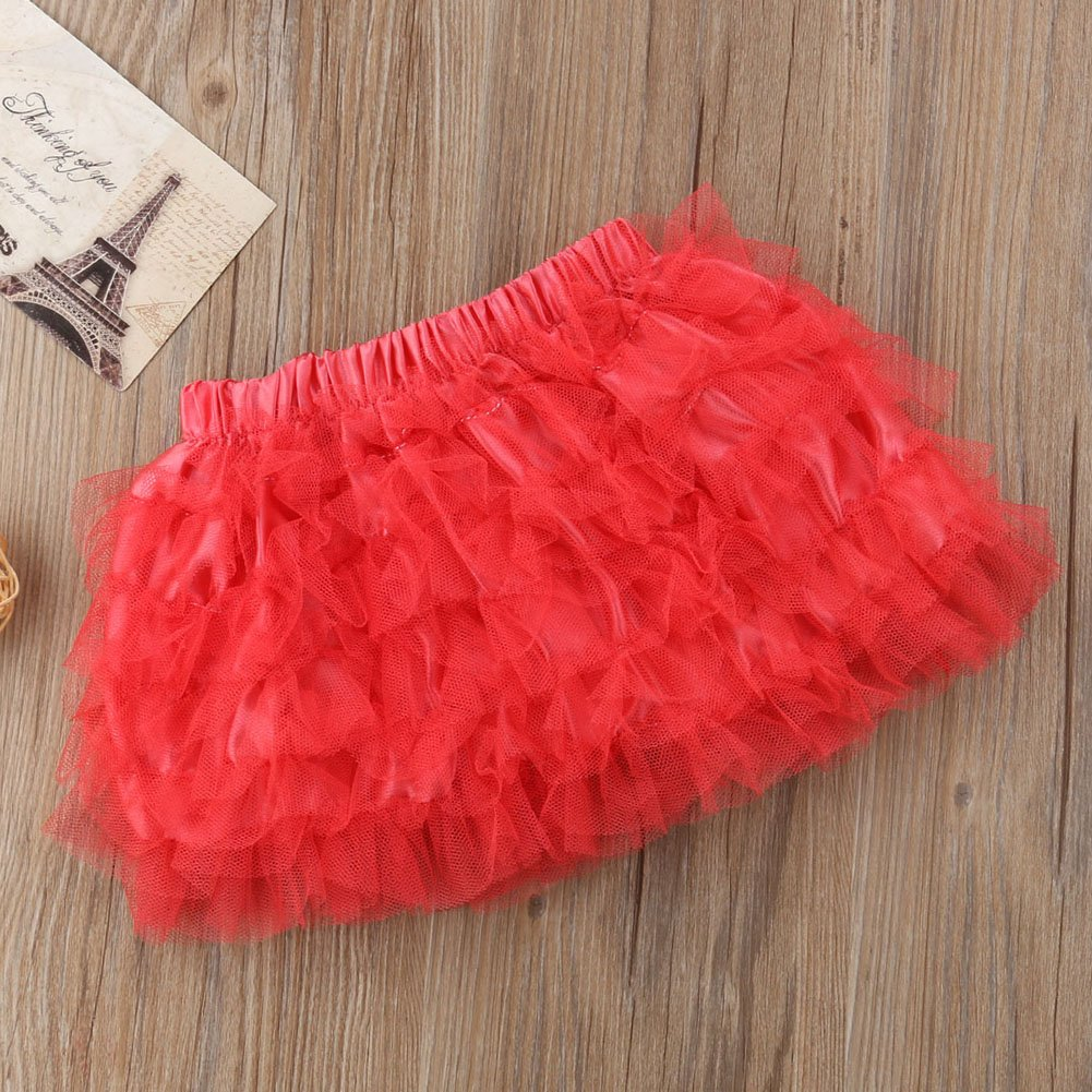 Dara Miwad Baby Girls Kid Child Toddler Princess Floral Tutu Pettiskirt Mini Dress Short Skirt