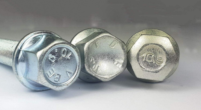 48 mm Farbe 8 Radschrauben Kegelbund 60 grad M12x1,5 x 23 25 26 28 29 30 33 35 38 40 43 45 48 50 55 60 Silber /& Schwarz Radbolzen ALUFELGEN Gr/ö/ße Silber