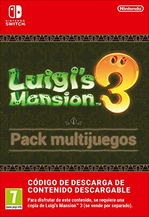 Pack multijuegos de Luigis Mansion 3 | Nintendo Switch - Código de descarga: Amazon.es: Videojuegos