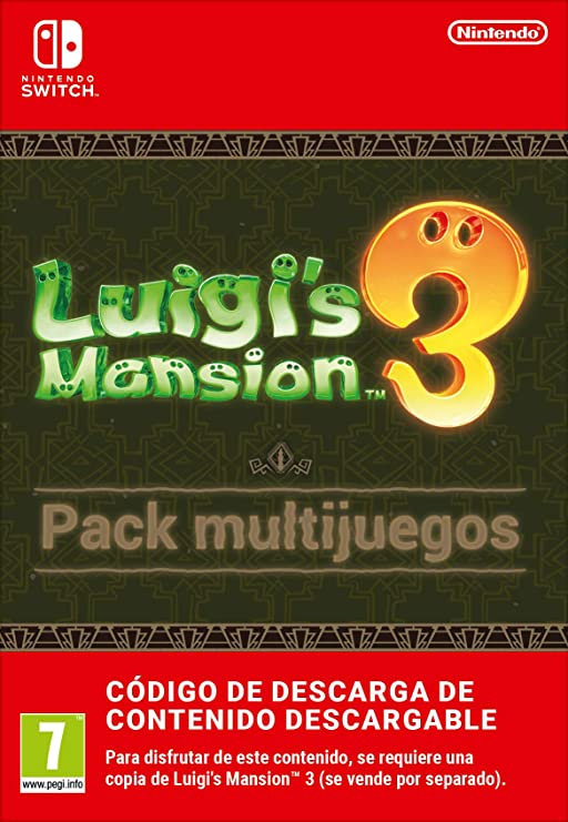 Pack multijuegos de Luigis Mansion 3 | Nintendo Switch - Código ...