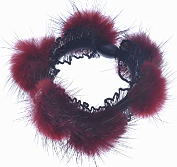 Amazon.com   3 Piece Fuzzy Artificial Rabbit Fur Faux Fur Hair Band Rope  Hair Accessories Hair Holder Hair Ring Tie Ponytail Holder   Beauty a426453827a