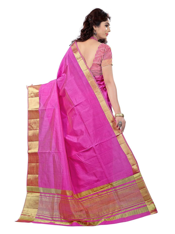 e vastram women u0027s tassar silk saree with zari blouse tap pink