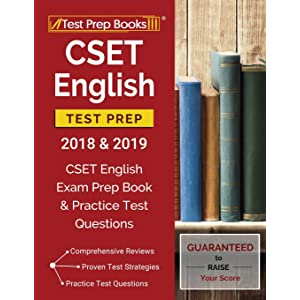 CSET English Subtests I-IV Book + Online (CSET Teacher