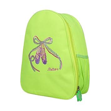 CHICTRY Girl Ballet Dancing Bag Ballerina Backpack Pink Dance Shoes  Gymnastics Ballet Dress Hotpink Hang Bag 44ee953eb19f7