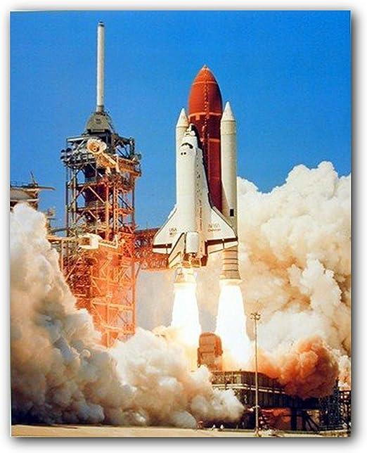 Space Shuttle NASA Astronomy Rocket HD POSTER