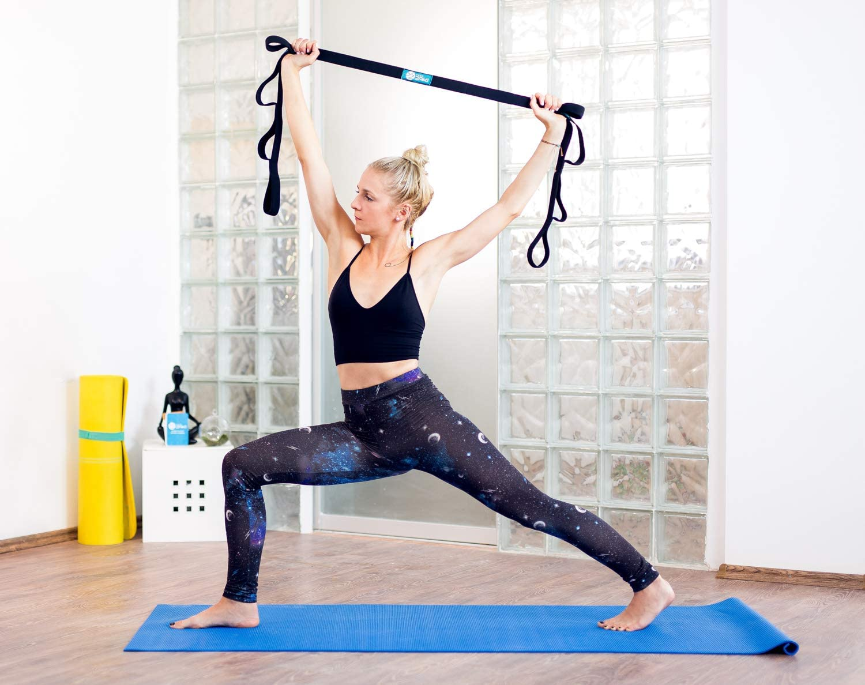 Amazon.com: Yoga Zaki - Correa elástica con lazos, juego de ...