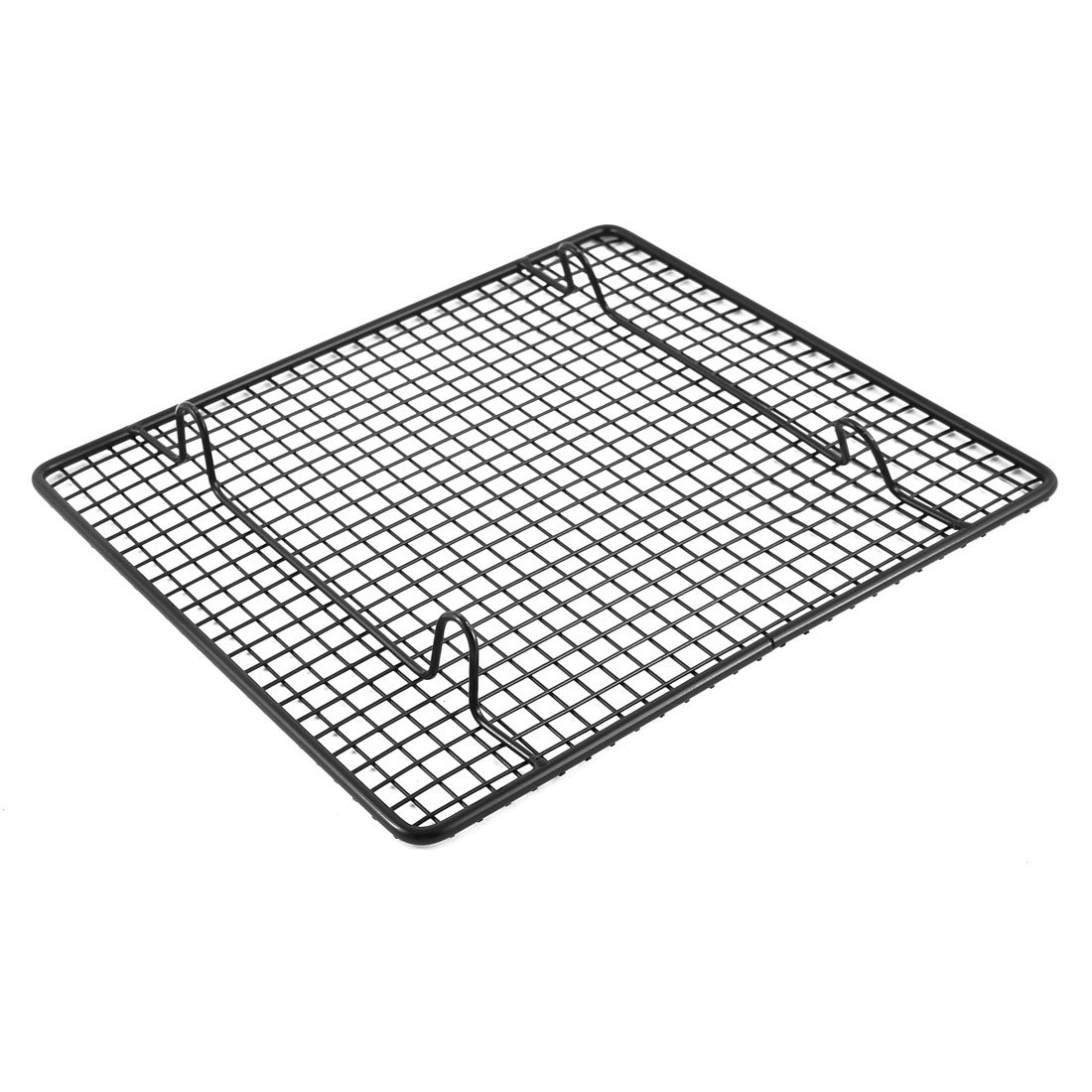 Amazon.com: uxcell Metal Restaurant Kitchen Cake Bread Cookie Pizza Beef Cooling Rack 26 x 23cm Black: Kitchen & Dining