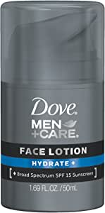 Dove Men+Care Face Lotion, Hydrate+ 1.69 oz