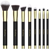 Amazon Price History for:Makeup Brushes EmaxDesign 8 Pieces Makeup Brush Set Face Eye Shadow Eyeliner Foundation Blush Lip Powder Liquid Cream Cosmetics Blending Brush Tools (Golden Black)