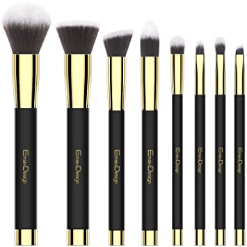 Emaxdesign Make Up Pinsel Set 8 Stück Professionellen Bürste
