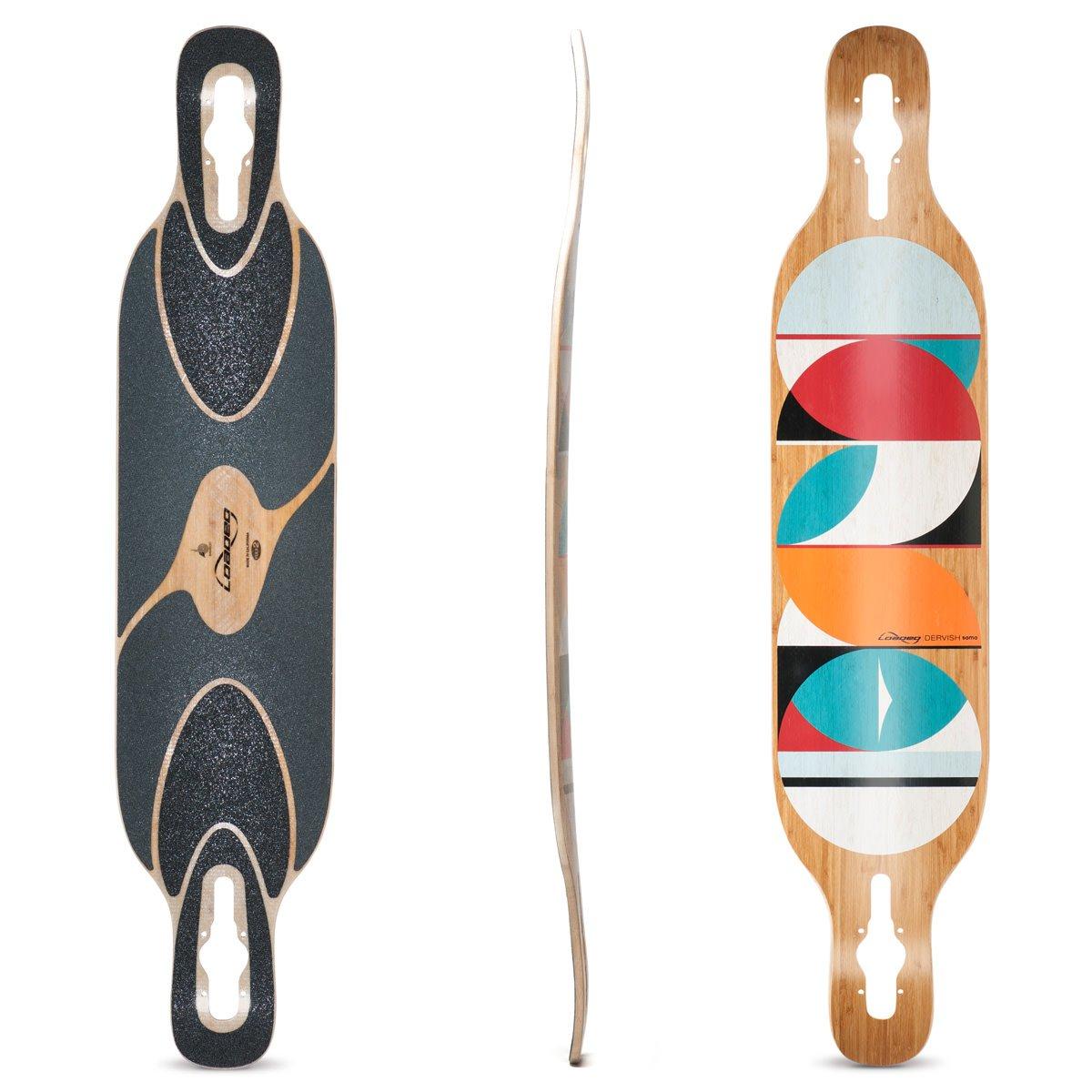 Loaded Boards Dervish Sama Bamboo Longboard Skateboard Deck